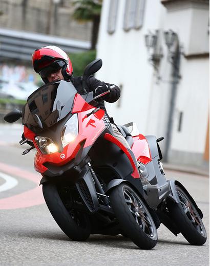 new quadro 4 wheeled scooter bikerscurve. Black Bedroom Furniture Sets. Home Design Ideas