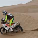 2015 Dakar Motorcycles Stage 9