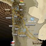 2015 Dakar Route
