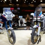 Paris Motorcycle Show Honda Africa Twin