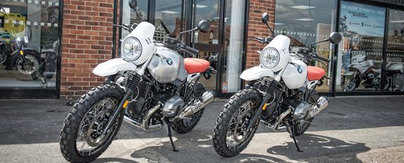 All New BMW R nineT Urban G/S