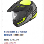 Schubert E1 Enduro Motorcycle Helmet